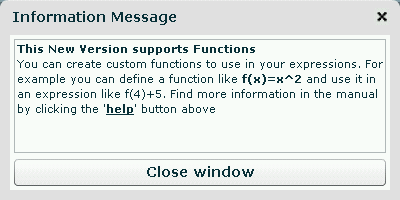 Scientific Calculator now supports functions