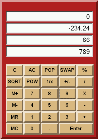 Alcula's new RPN calculator