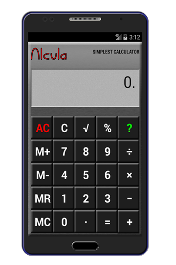 Simplest Calculator for Android